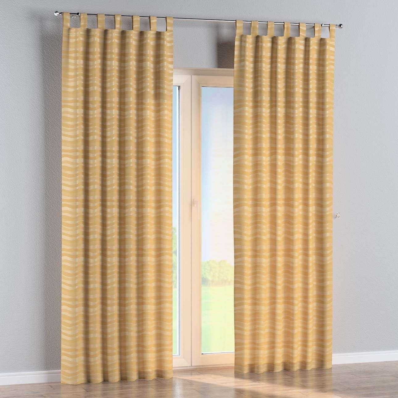 Gardin med stropper 1 stk. fra kolleksjonen Damasco, Stoffets bredde: 141-74
