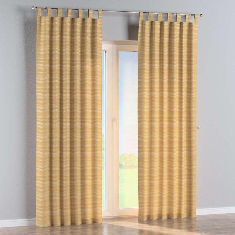 Zasłona na szelkach 1 szt. w kolekcji Damasco, tkanina: 141-74