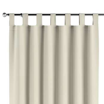 Gardin med hällor 1 längd i kollektionen Velvet, Tyg: 704-10