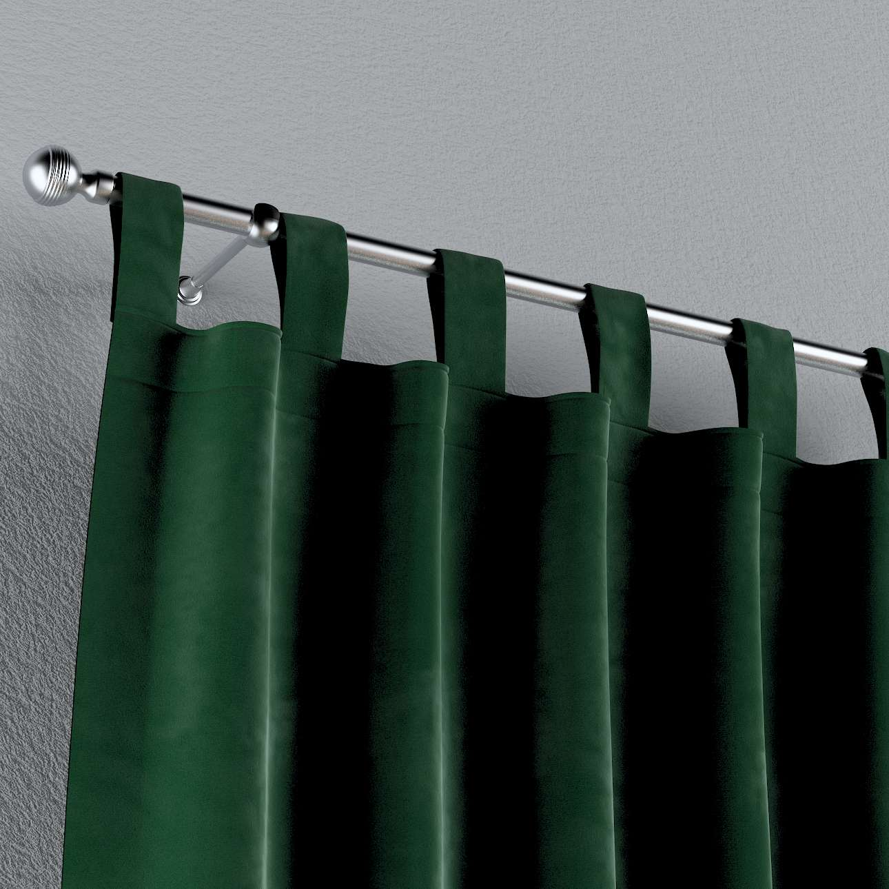 Gardin med stropper 1 stk. fra kolleksjonen Velvet, Stoffets bredde: 704-13