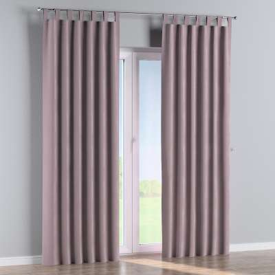 Tab top curtain 704-14 dusty pink Collection Velvet
