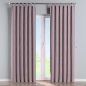 Tab top curtains in collection Velvet, fabric: 704-14