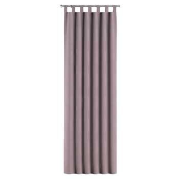 Gardin med stropper 1 stk. 130 × 260 cm fra kolleksjonen Velvet, Stoffets bredde: 704-14