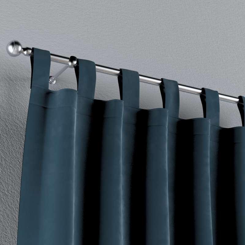 Gardin med stropper 1 stk. fra kollektionen Velvet, Stof: 704-16