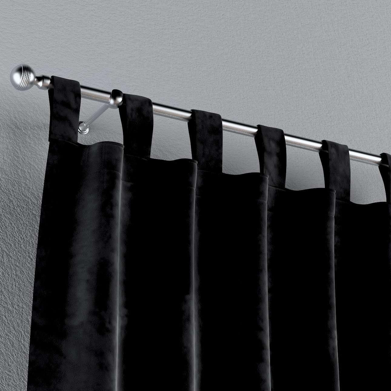 Schlaufenschal von der Kollektion Velvet, Stoff: 704-17