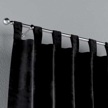 Tab top curtains in collection Velvet, fabric: 704-17