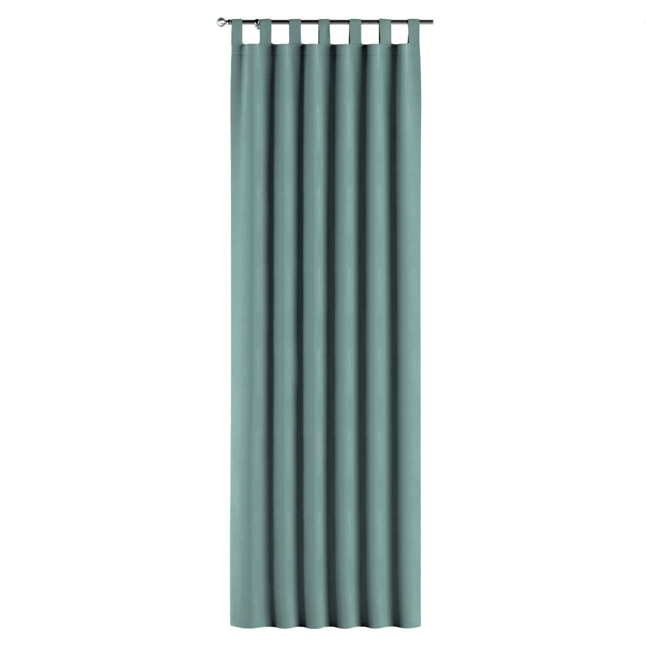 Gardin med stropper 1 stk. 130 × 260 cm fra kolleksjonen Velvet, Stoffets bredde: 704-18