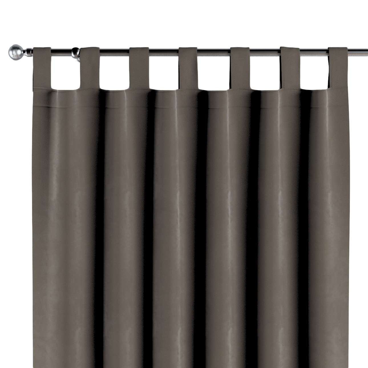 Tab top curtains in collection Velvet, fabric: 704-19