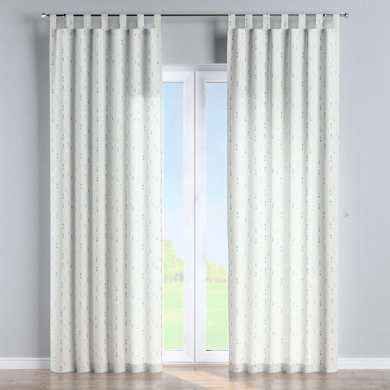 Tab top curtains in collection Adventure, fabric: 141-82