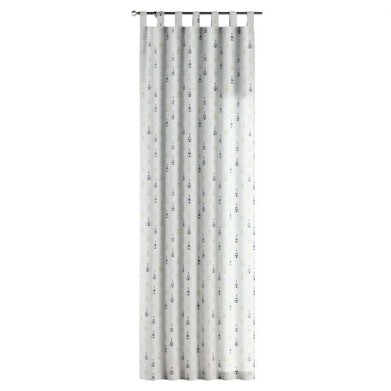Gardin med hällor 1 längd i kollektionen Adventure, Tyg: 141-84