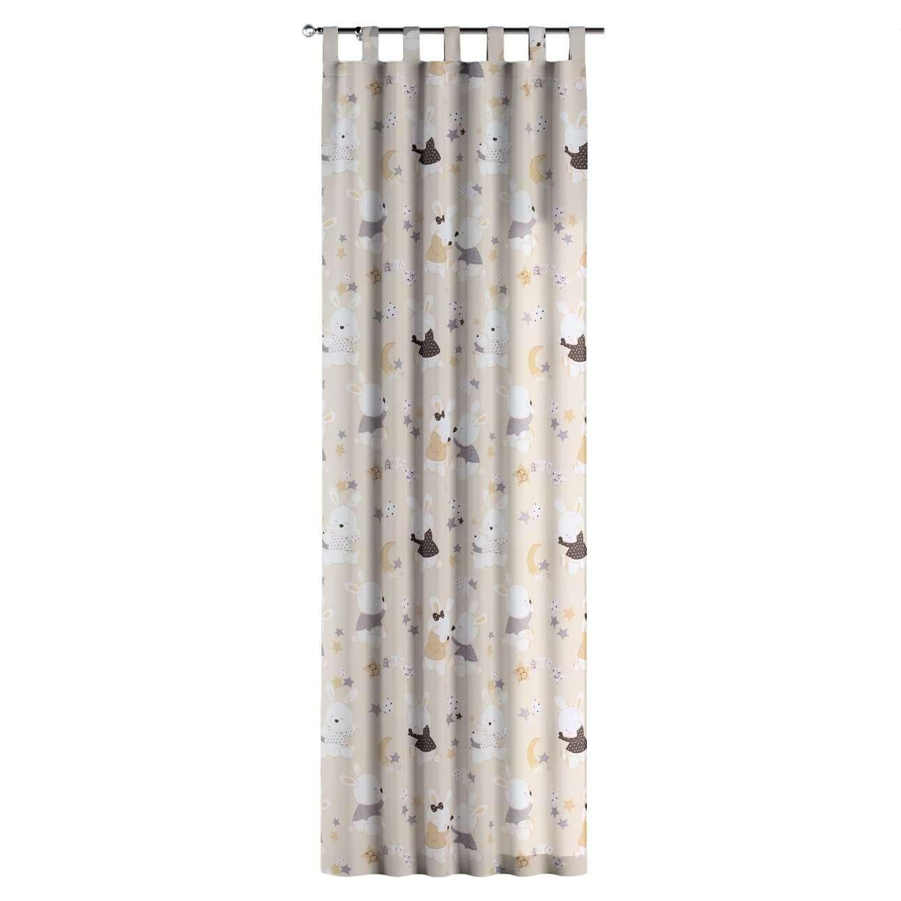 Gardin med hällor 1 längd i kollektionen Adventure, Tyg: 141-85