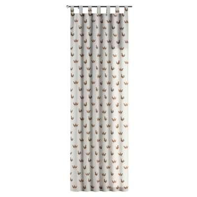 Záves na pútkach V kolekcii Flowers, tkanina: 141-80