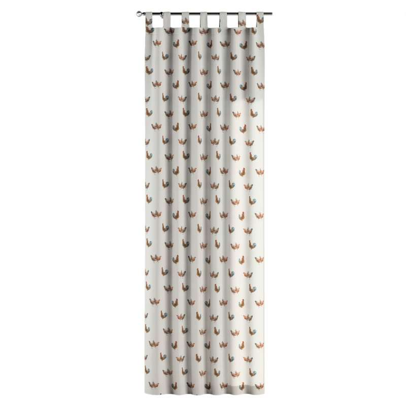 Zasłona na szelkach 1 szt. w kolekcji Flowers, tkanina: 141-80