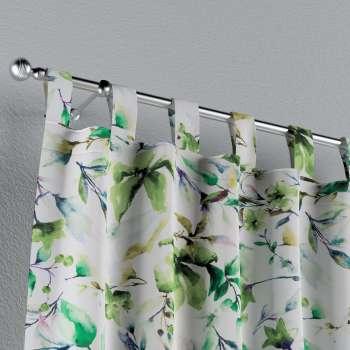 Zasłona na szelkach 1 szt. w kolekcji Velvet, tkanina: 704-20