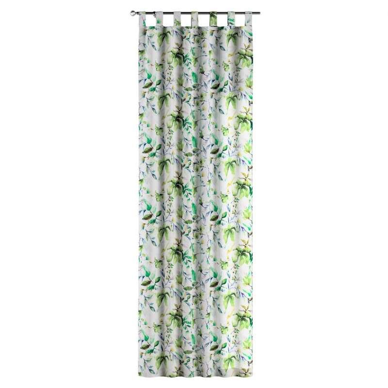 Gardin med stropper 1 stk. fra kollektionen Velvet, Stof: 704-20