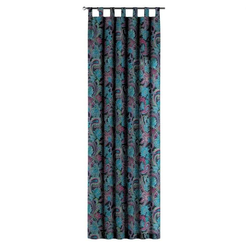 Zasłona na szelkach 1 szt. w kolekcji Velvet, tkanina: 704-22