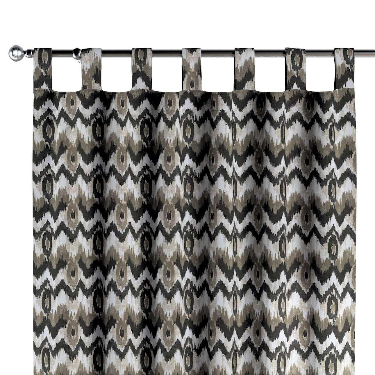 Zasłona na szelkach 1 szt. w kolekcji Modern, tkanina: 141-88