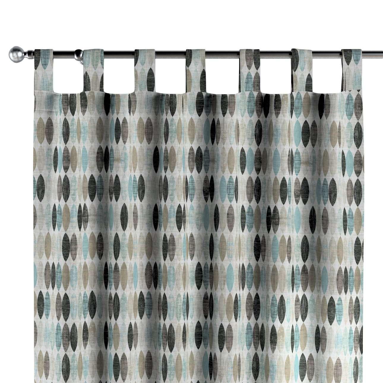 Užuolaidos kilpinio klostavimo kolekcijoje Modern, audinys: 141-91