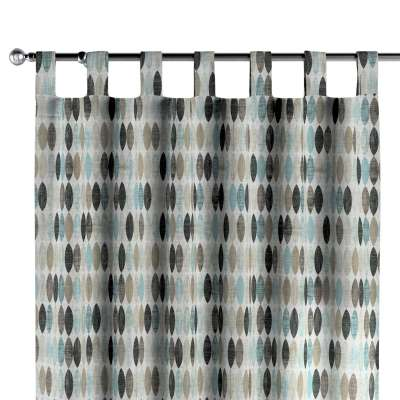 Gardin med stropper 1 stk. 141-91 Naturhvit med print Kolleksjon Modern