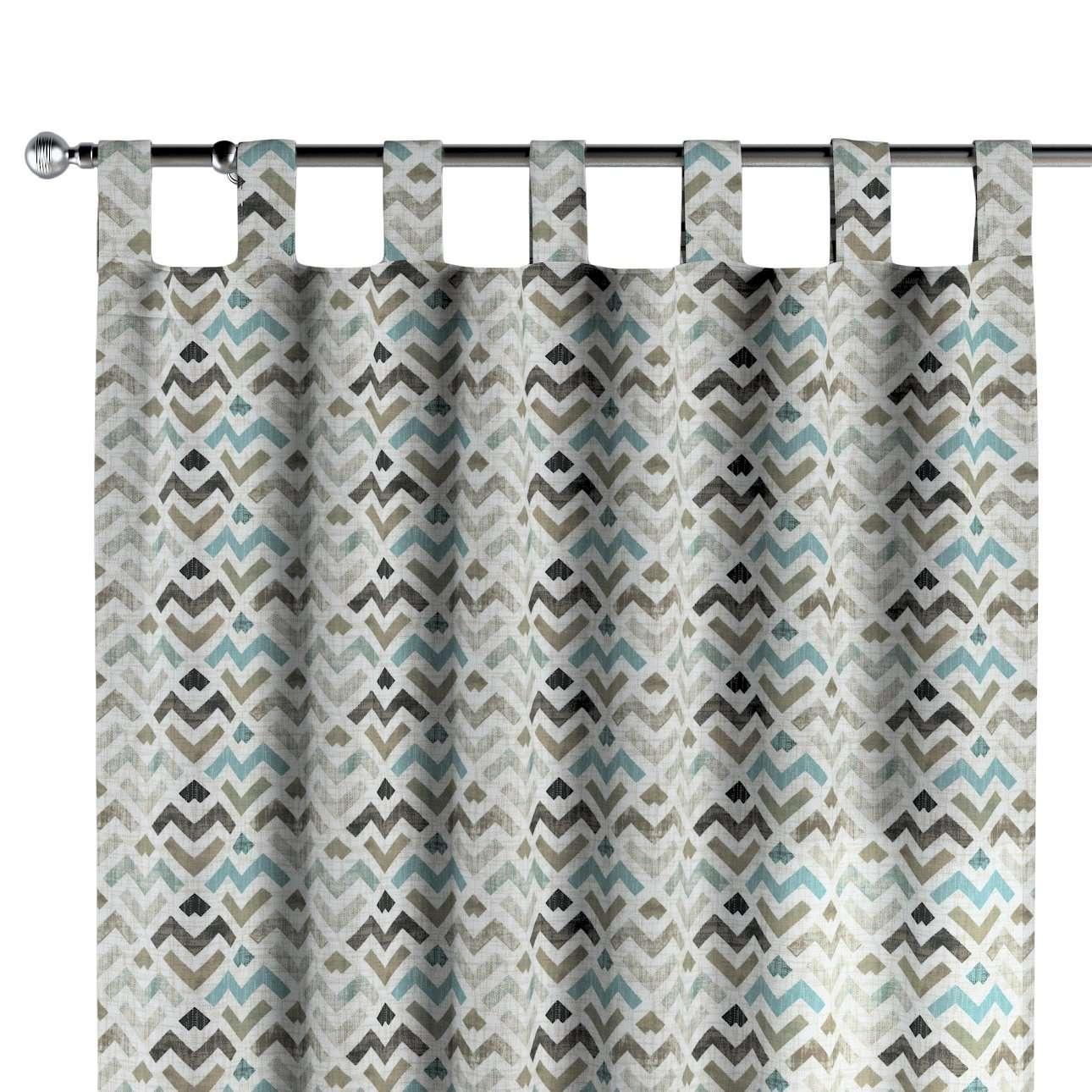Zasłona na szelkach 1 szt. w kolekcji Modern, tkanina: 141-93