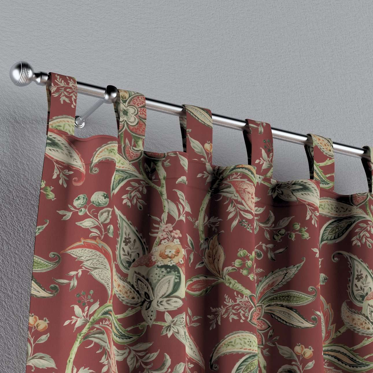Závěs na poutka v kolekci Gardenia, látka: 142-12