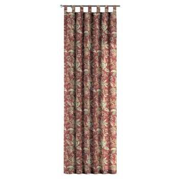 Gardin med hällor 1 längd i kollektionen Gardenia, Tyg: 142-12