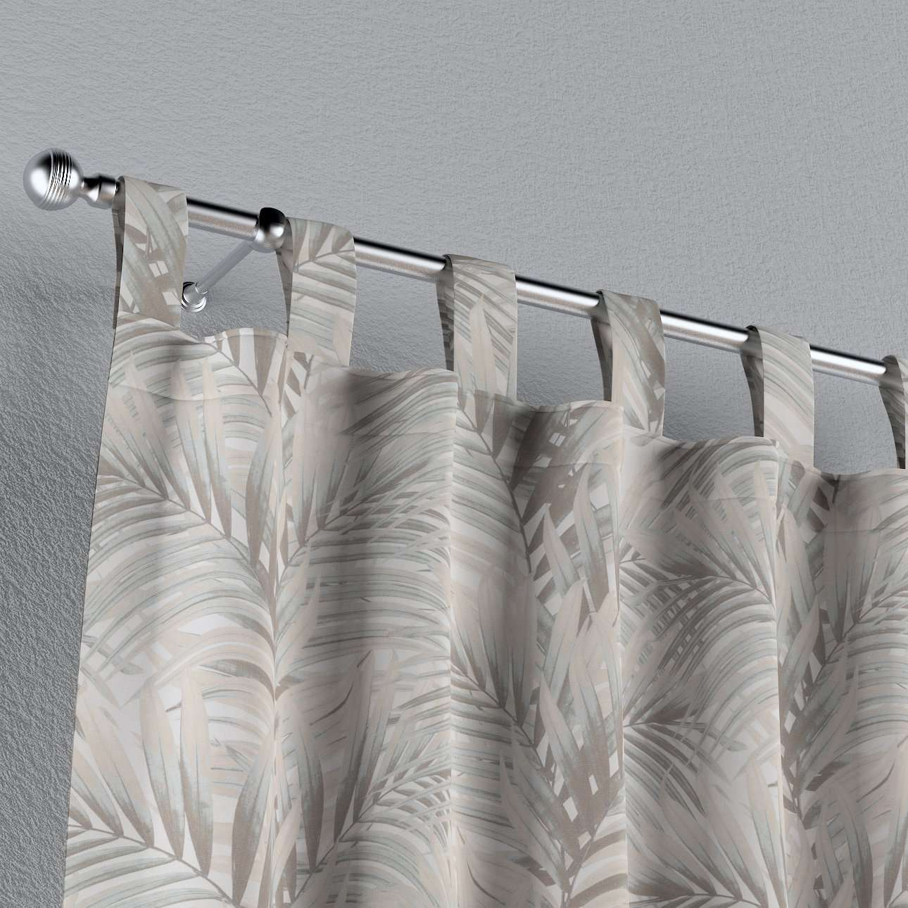 Tab top curtains in collection Gardenia, fabric: 142-14