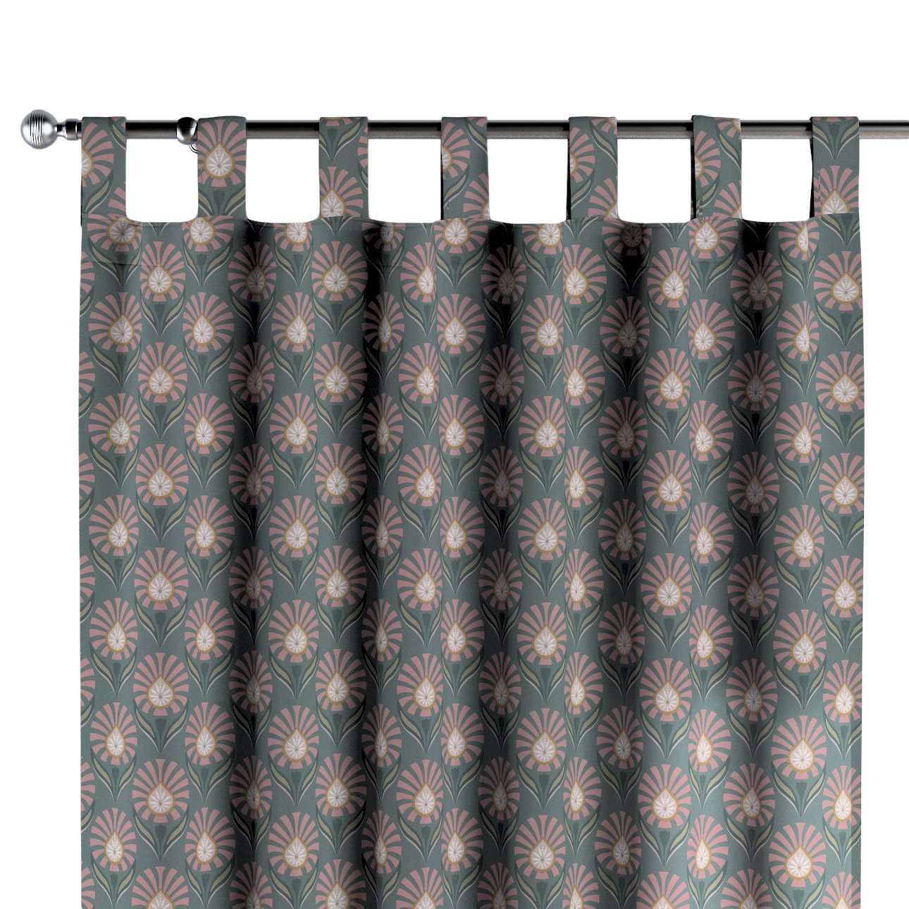 Gardin med stropper 1 stk. fra kolleksjonen Gardenia, Stoffets bredde: 142-17