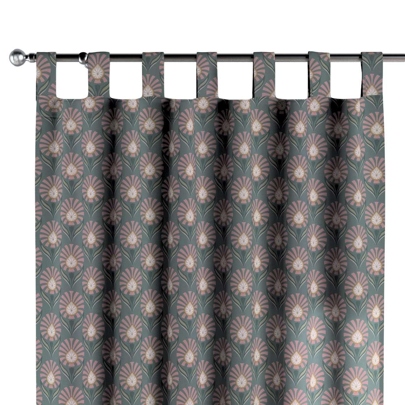 Závěs na poutka v kolekci Gardenia, látka: 142-17