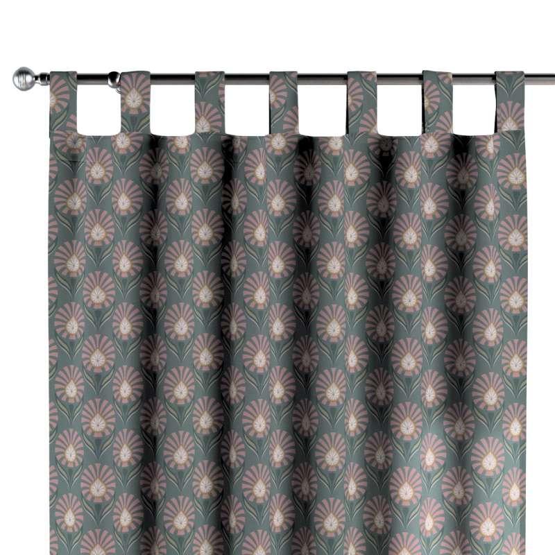Zasłona na szelkach 1 szt. w kolekcji Gardenia, tkanina: 142-17