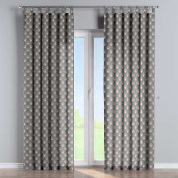 Tab top curtains in collection Gardenia, fabric: 142-17