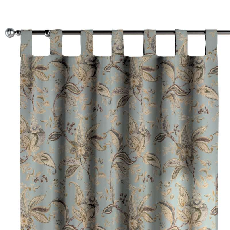 Zasłona na szelkach 1 szt. w kolekcji Gardenia, tkanina: 142-18