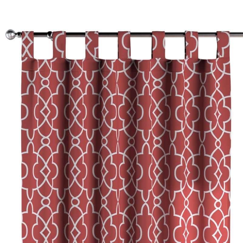 Zasłona na szelkach 1 szt. w kolekcji Gardenia, tkanina: 142-21