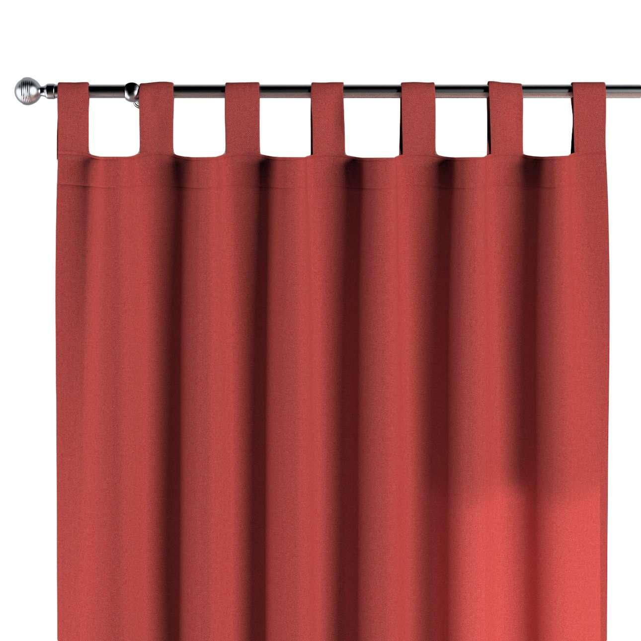 Schlaufenschal, rot, 1 Stck. 130 × 260 cm, Wooly   Heimtextilien > Gardinen und Vorhänge > Schlaufenschals   Dekoria