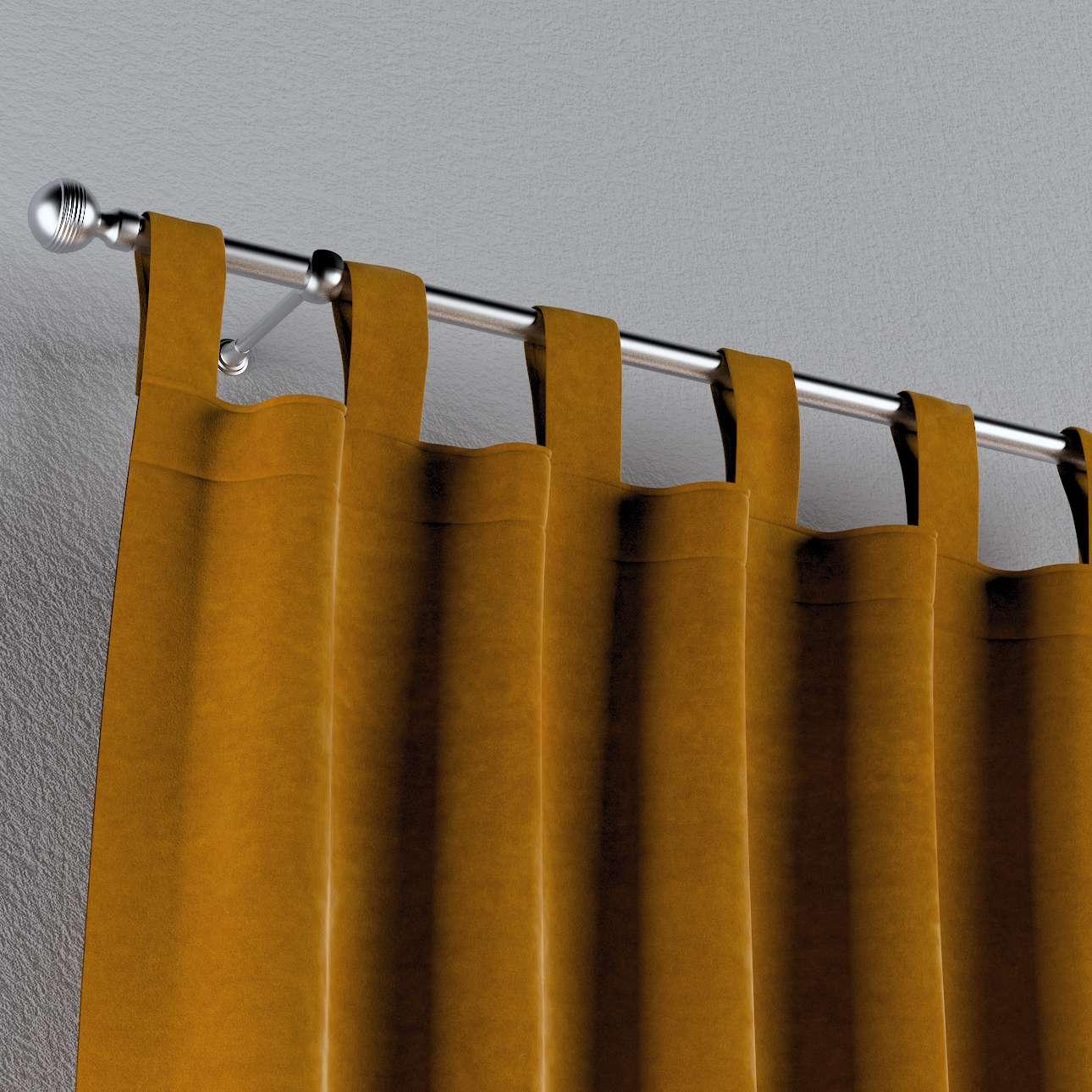 Gardin med stropper 1 stk. fra kollektionen Velvet, Stof: 704-23