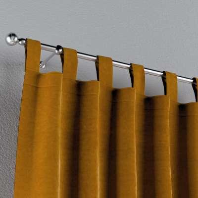 Zasłona na szelkach 1 szt. w kolekcji Velvet, tkanina: 704-23