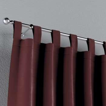 Zasłona na szelkach 1 szt. w kolekcji Velvet, tkanina: 704-26