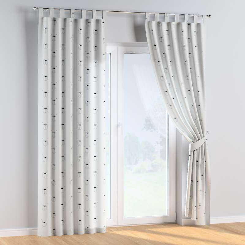 Tab top curtains in collection Magic Collection, fabric: 500-06