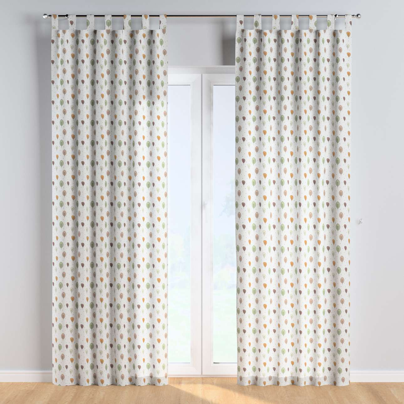 Tab top curtains in collection Magic Collection, fabric: 500-09