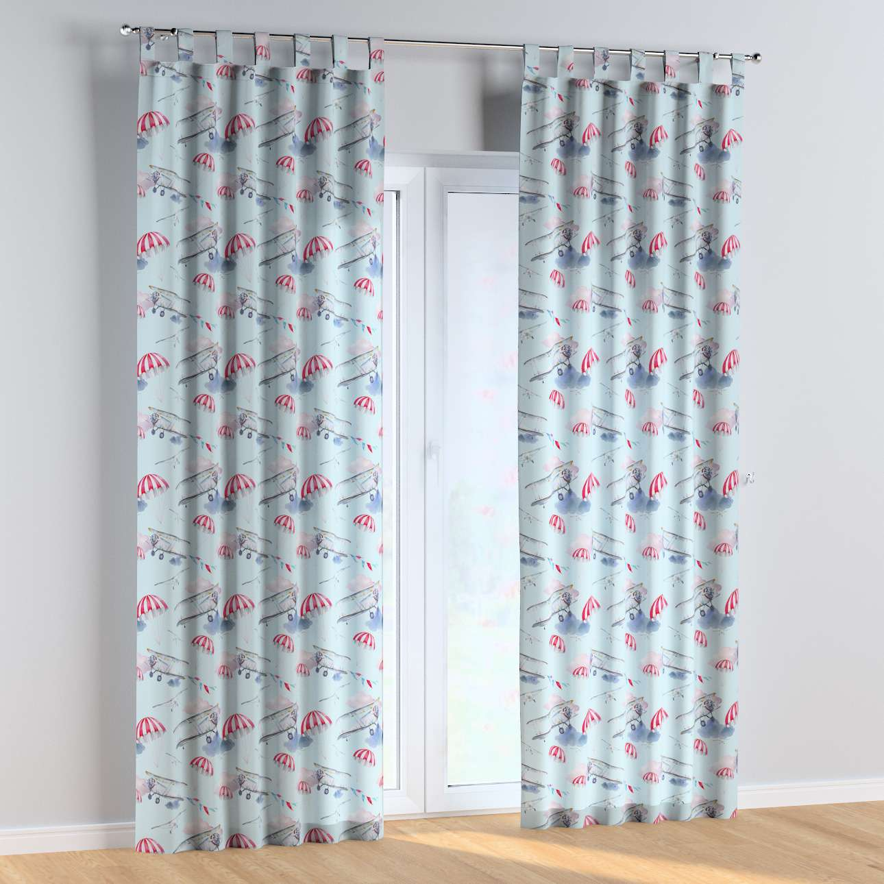 Tab top curtains in collection Magic Collection, fabric: 500-10