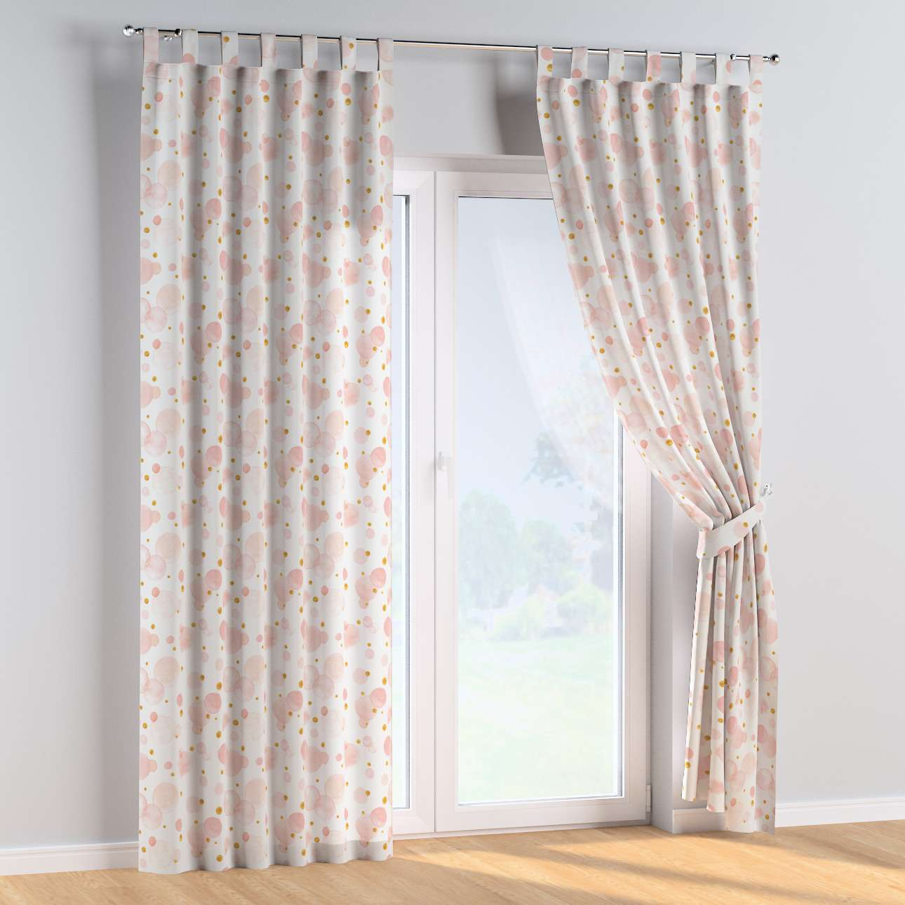 Tab top curtains in collection Magic Collection, fabric: 500-13