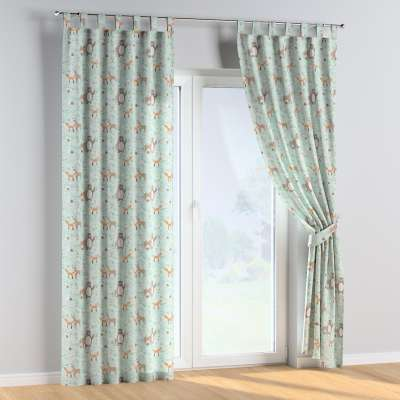 Tab top curtains in collection Magic Collection, fabric: 500-15