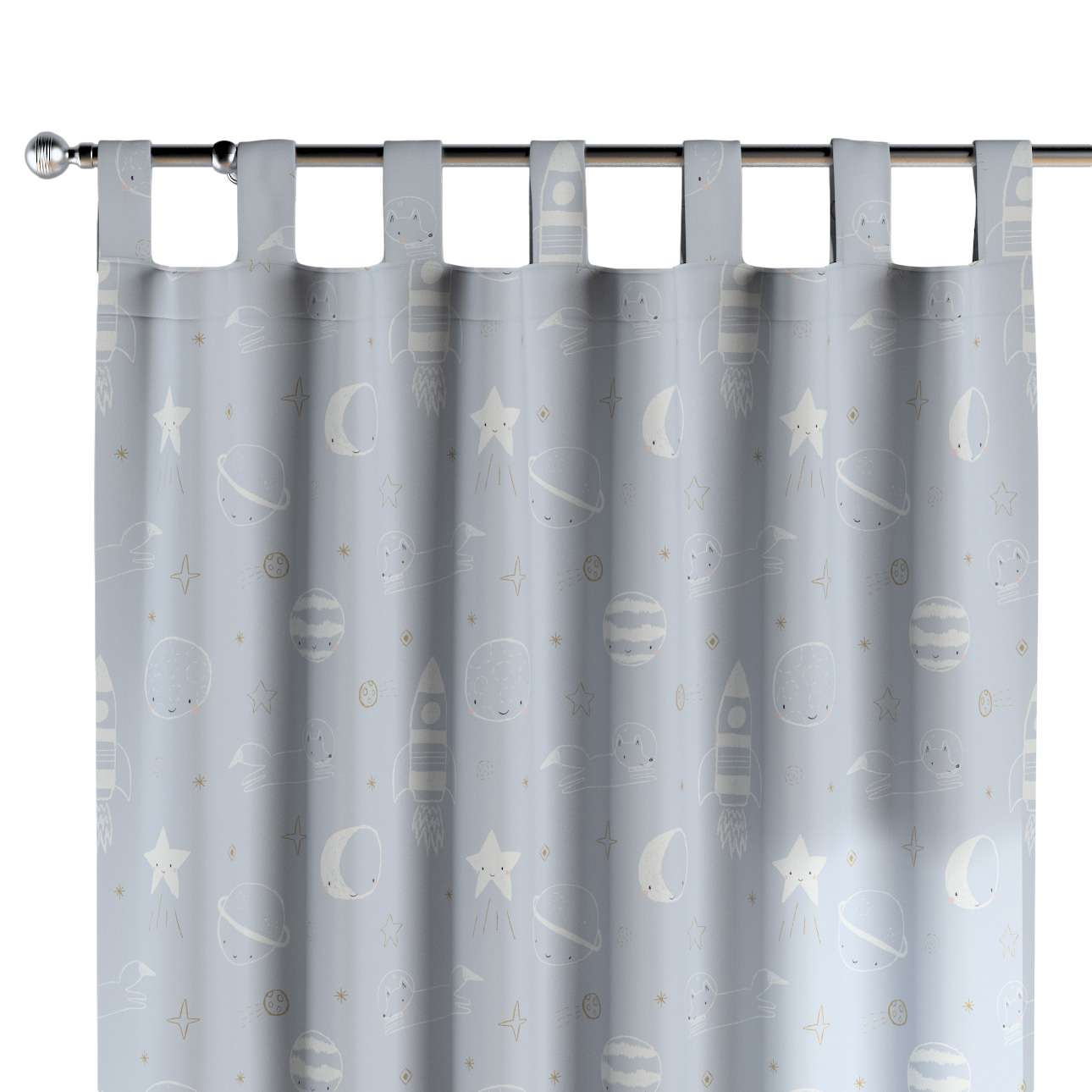 Tab top curtains in collection Magic Collection, fabric: 500-16