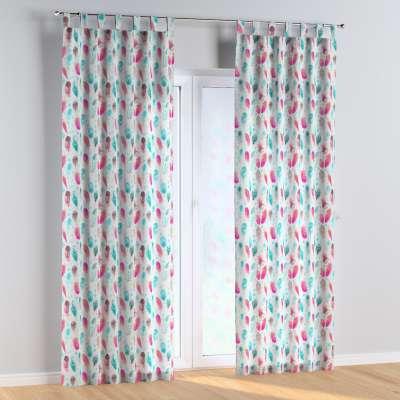 Tab top curtains in collection Magic Collection, fabric: 500-17