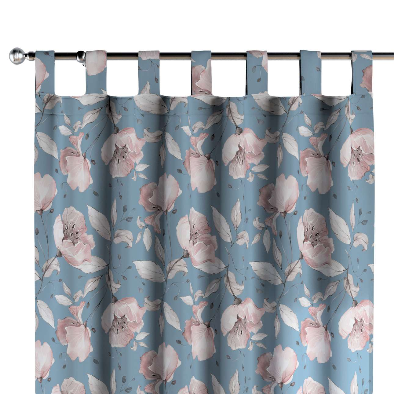Tab top curtains in collection Magic Collection, fabric: 500-18
