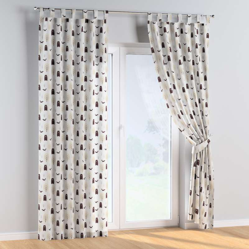 Tab top curtains in collection Magic Collection, fabric: 500-19