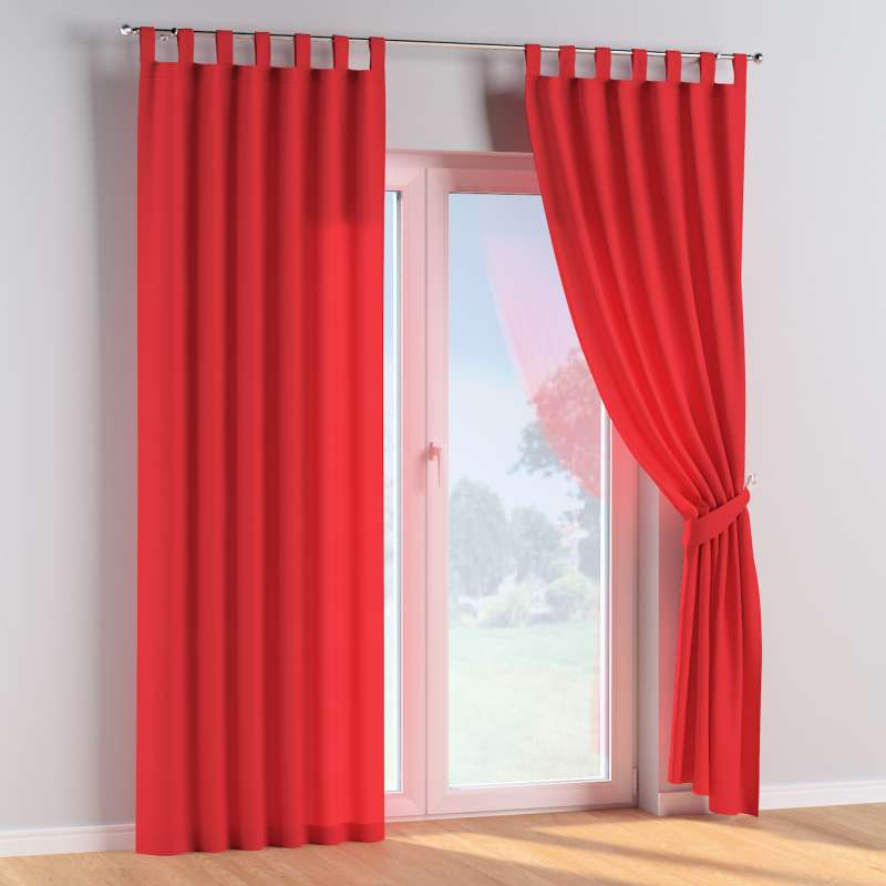 Tab top curtains in collection Happiness, fabric: 133-43