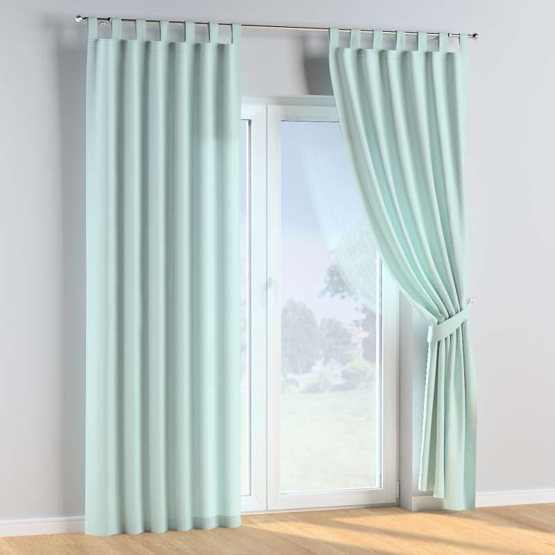 Tab top curtains in collection Cotton Story, fabric: 702-10
