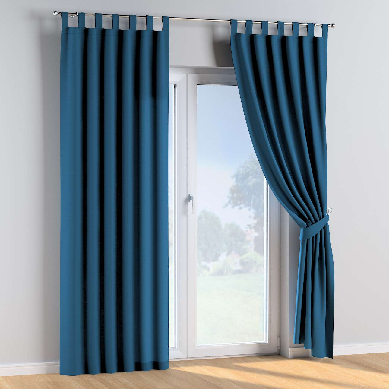 Tab top curtains in collection Cotton Story, fabric: 702-30