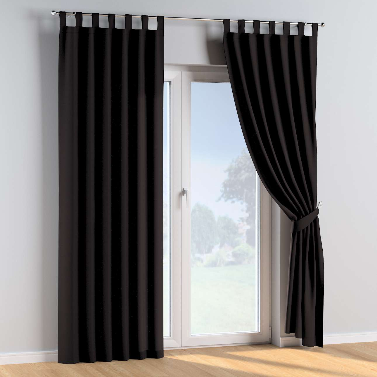 Tab top curtains in collection Cotton Story, fabric: 702-09
